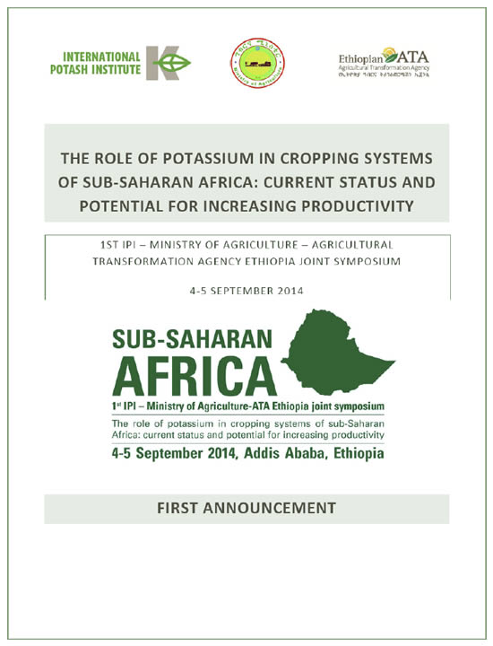 The Role of Potassium in Cropping Systems of sub-Saharan Africa